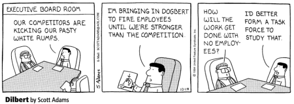 Dilbert Oct 1994 - buy the book !